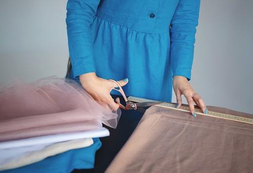 Tissu pour un vêtement d'été